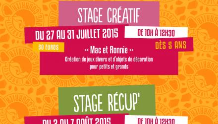 Les stages 2015